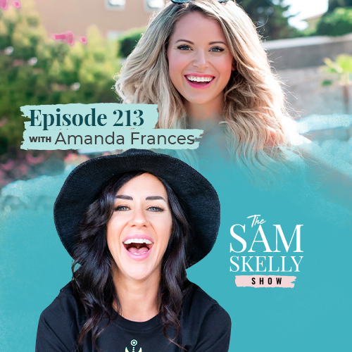 EP 213: BECOMING RICH AS F*CK – HOW TO TAP INTO YOUR INNATE ABILITY TO ATTRACT WEALTH WITH AMANDA FRANCES