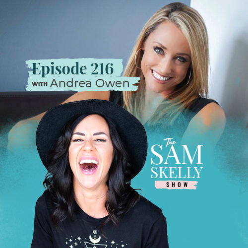 EP 216: MAXIMIZE CONFIDENCE, MASTER RESILIENCE & MAKE SOME NOISE WITH ANDREA OWEN