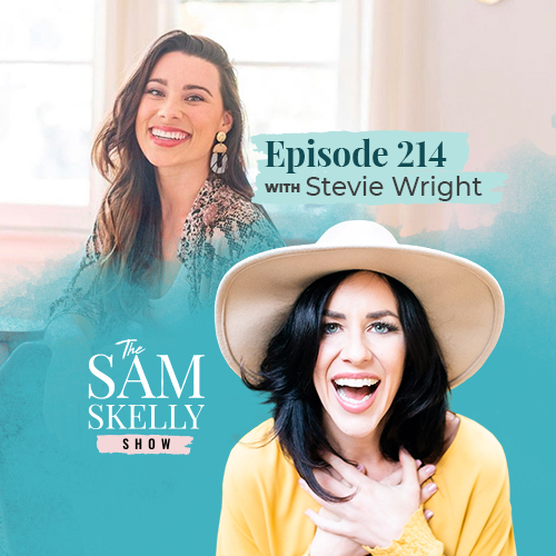 EP 214: SO, YOU WANNA BE A LIFE COACH? HOW TO BECOME MASTERFUL RATHER THAN MEDIOCRE WITH STEVIE WRIGHT